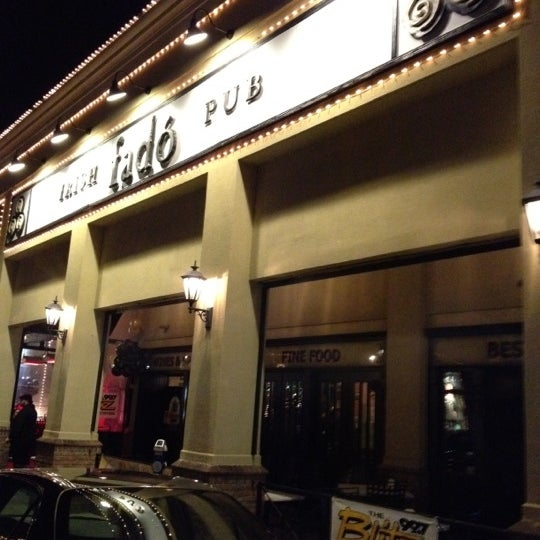 Photo taken at Fado Irish Pub & Restaurant by Shayne C. on 2/18/2012