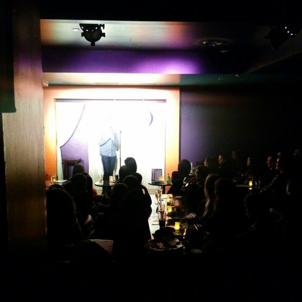 Photo taken at Absolute Comedy by Melissa S. on 2/22/2015