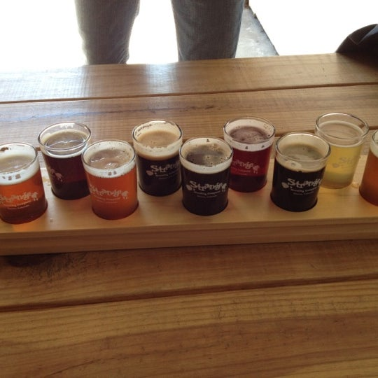 Photo taken at Strange Craft Beer Company by Kerry F. on 10/14/2012