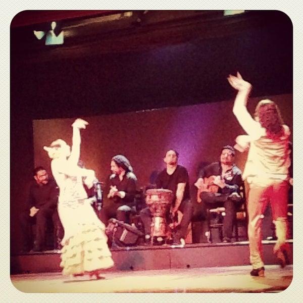 Photo taken at Palacio del Flamenco by Ilya B. on 5/15/2013