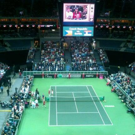Photo taken at O2 arena by Tomas K. on 11/3/2012