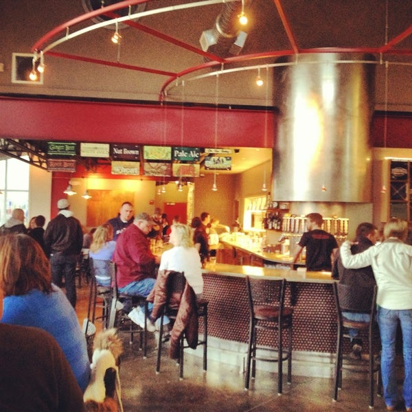 Photo taken at Ithaca Beer Co. Taproom by Rob F. on 3/23/2013