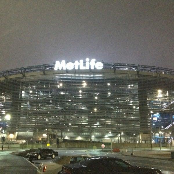 Photo taken at MetLife Stadium by Gary H. on 2/24/2013