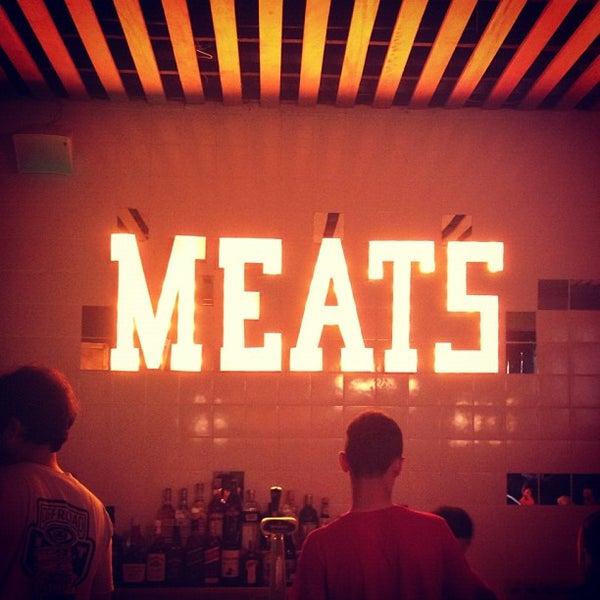 Foto tirada no(a) Meats por Stephanie S. em 11/29/2012