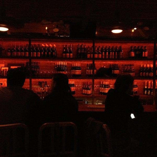 Photo taken at Custom Wine Bar by sharilyn on 5/27/2013
