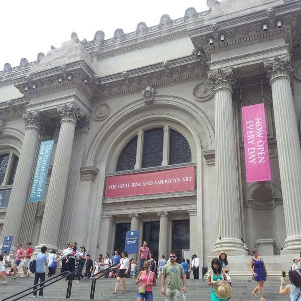 Photo taken at Metropolitan Museum of Art by J.R. H. on 7/19/2013