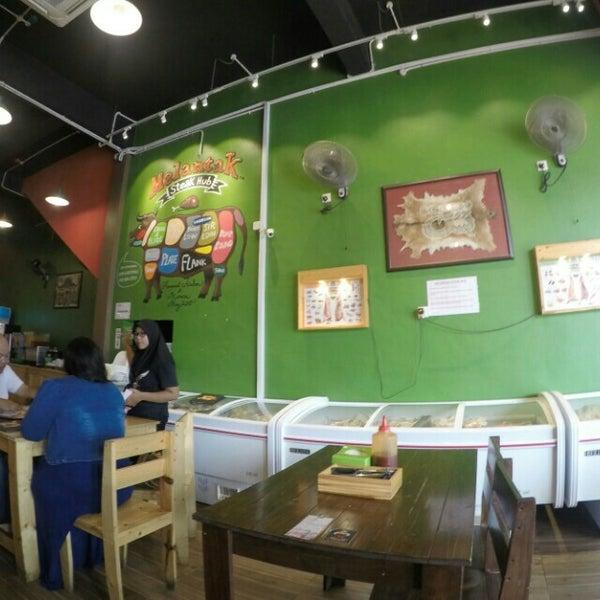 Photo taken at Melantak Steak Hub by Aman S. on 4/17/2016