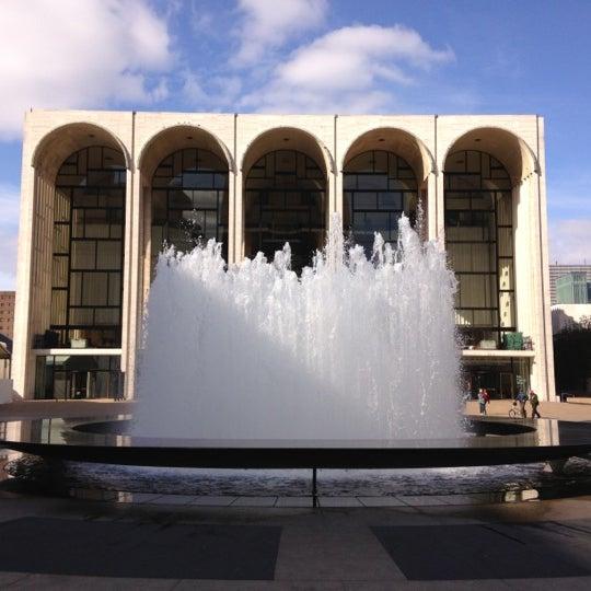 11/5/2012にCAESAR D.がLincoln Center for the Performing Artsで撮った写真