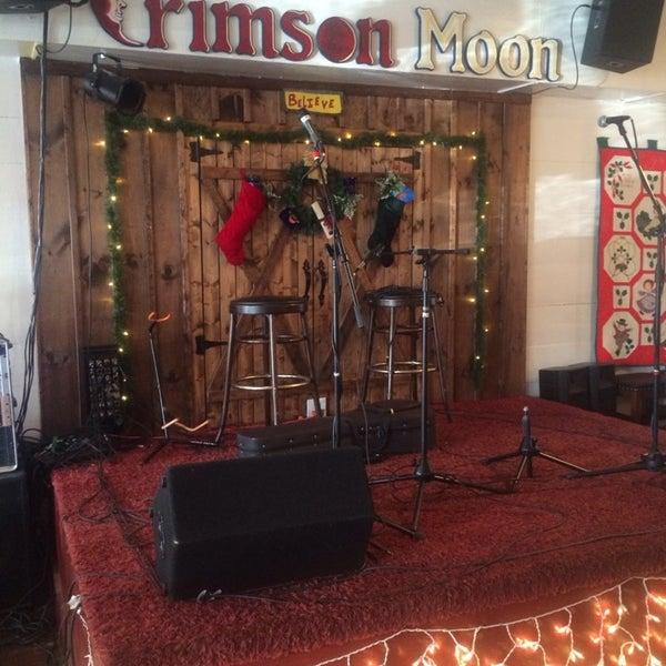 Crimson Moon Cafe Menu