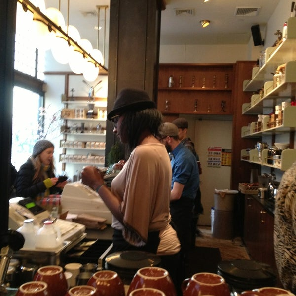 Photo taken at Stumptown Coffee Roasters by Zachary F. on 12/28/2012