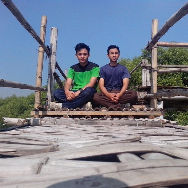 Photo taken at Ekowisata Mangrove by ahmad faishal l. on 3/23/2014