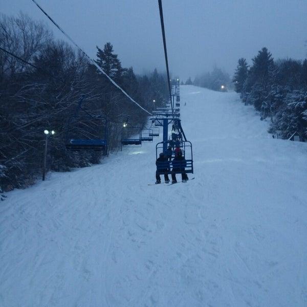 Photo taken at Pat's Peak Ski Area by Steven on 2/16/2014