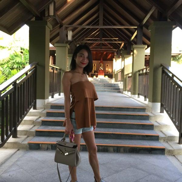 Photo taken at Anantara Si Kao Resort And Spa by Chinzy K. on 6/16/2017