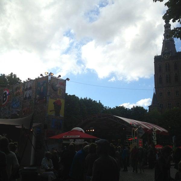Photo taken at Festivalplein Theaterfestival Boulevard by Jessy V. on 8/11/2013