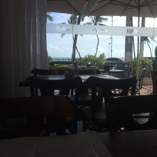 Foto tirada no(a) Anamá Restaurante por Thiago M. em 11/5/2014