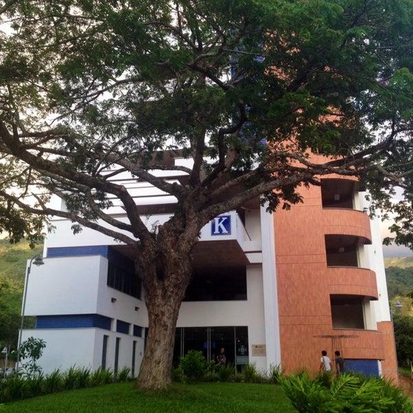 Photo taken at Universidad Pontificia Bolivariana - Seccional Bucaramanga by Paulo C. on 11/9/2013