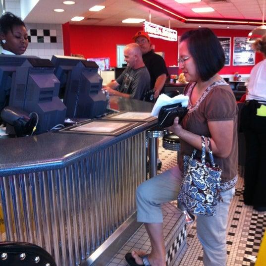 Photo taken at Steak 'n Shake by Angela on 6/13/2012