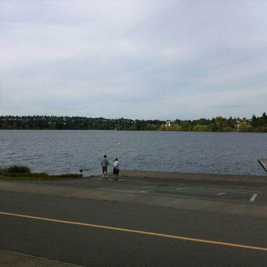 Photo taken at Green Lake Boathouse by Erik B. on 6/22/2012