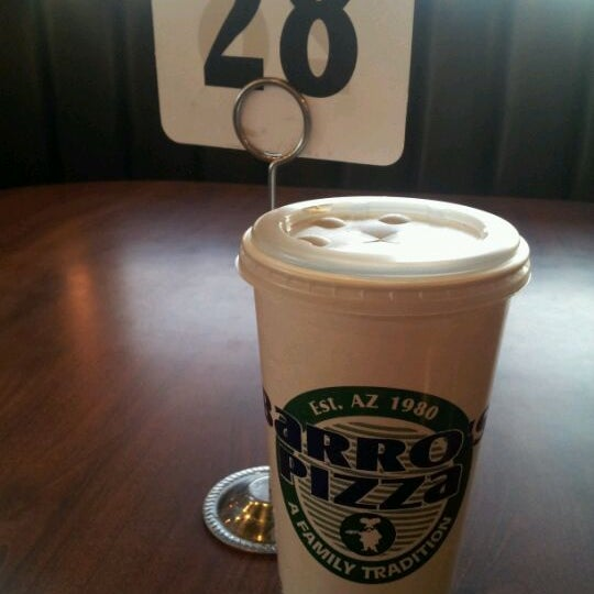 Photo taken at Barro's Pizza by Matthew S. on 4/2/2012