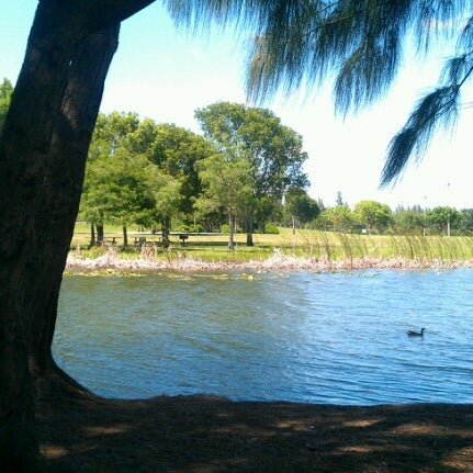 Photo taken at Markham Park by Ryann J. on 6/11/2012