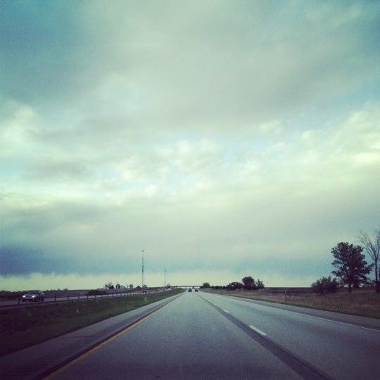 Photo taken at I-35 by John L. on 4/8/2012