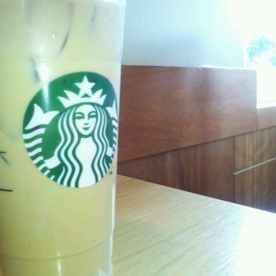 Photo taken at Starbucks by Megan P. on 8/16/2012
