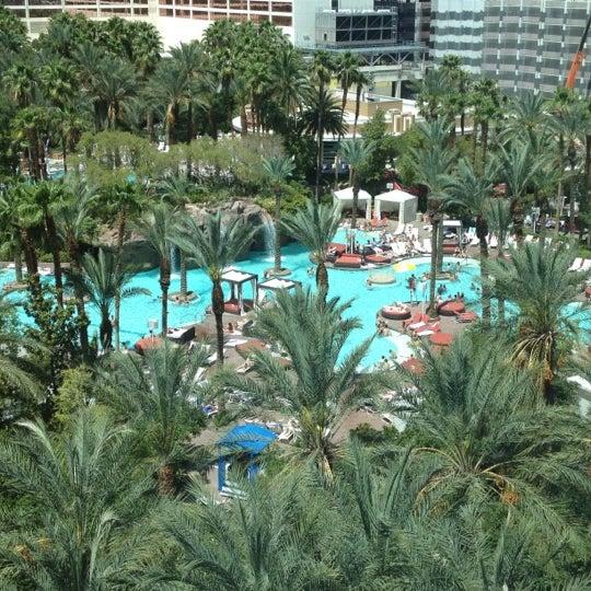 Photo taken at Flamingo GO Pool by John C. on 4/23/2012