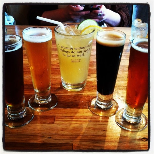 Photo taken at Free State Brewing Company by Lucia J. on 4/29/2012