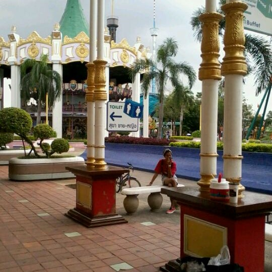 Photo taken at Siam Park City by laddawan on 8/25/2012