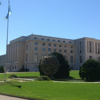 Photo taken at Palais des Nations by Aleksandr P. on 8/27/2012