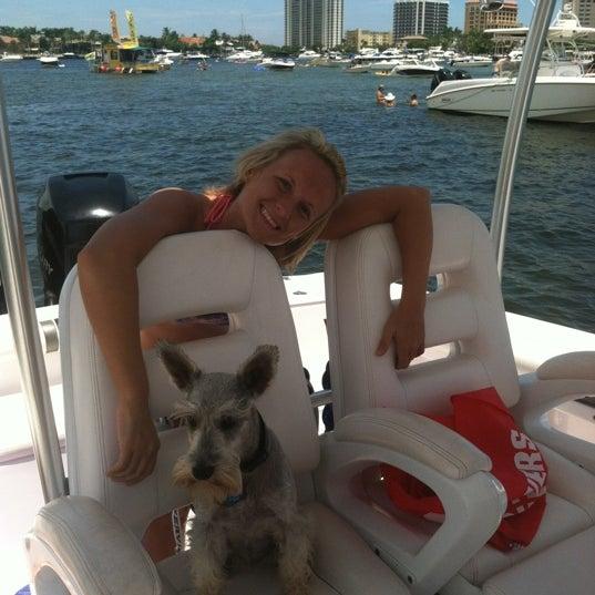 Photo taken at Lake Boca Raton by LeenO on 8/12/2012