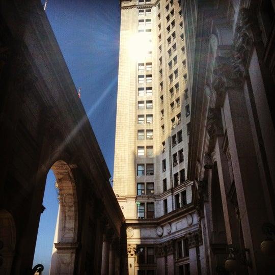 Photo taken at NYC Municipal Building by Nikki N. on 9/12/2012