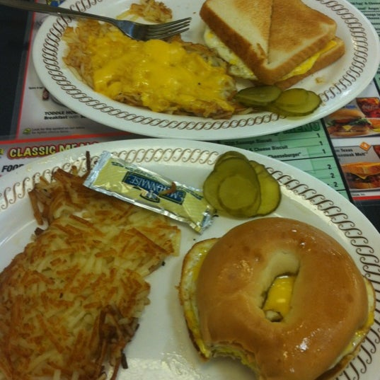 Photo taken at Waffle House by Taylor C. on 5/21/2012
