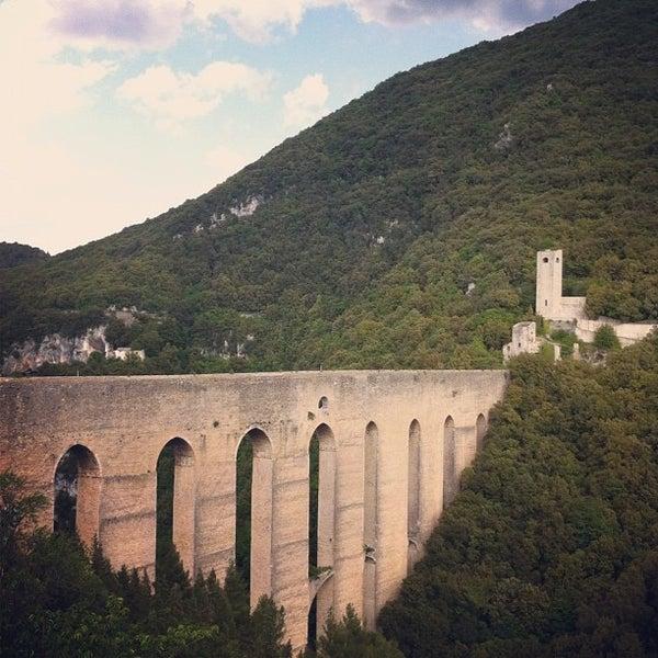 Photo taken at Ponte Delle Torri by francesca f. on 5/26/2012
