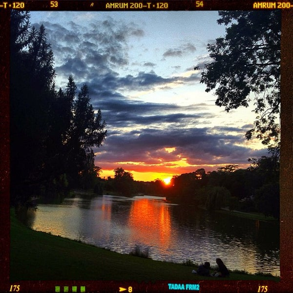 Photo taken at Lac Daumesnil by Rod M. on 7/15/2012