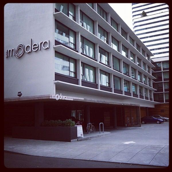 Photo taken at Hotel Modera by Evan H. on 7/23/2012