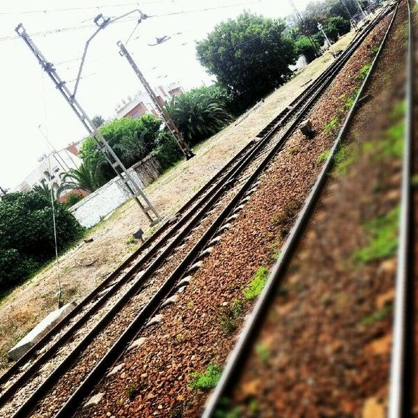 Photo taken at Gare de Mohammédia  محطة المحمدية by Jalil E. on 5/11/2012