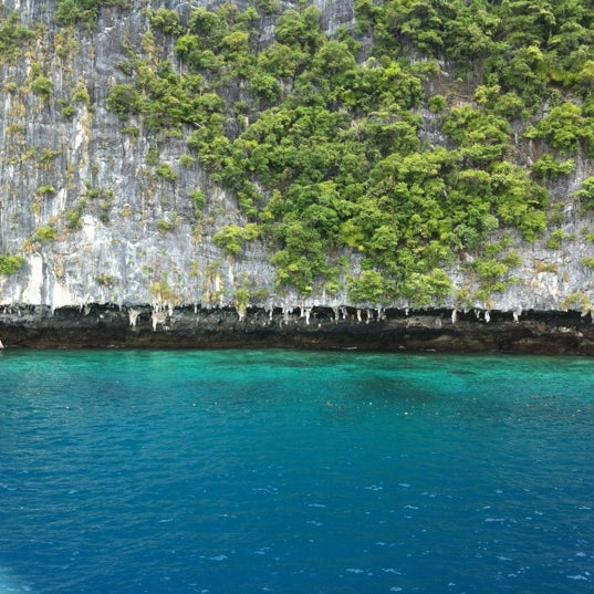 Photo taken at Phi Phi Island by Ones S. on 8/13/2012