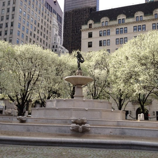 Photo taken at Grand Army Plaza by Indra K. on 3/24/2012