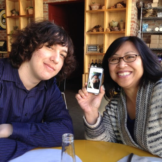 Photo taken at Umami Burger by Mojoey on 4/1/2012