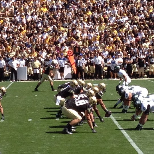 Photo taken at Folsom Field by Kevin F. on 9/8/2012