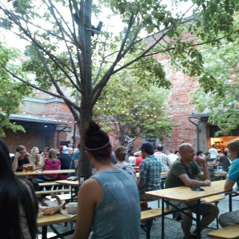 Photo taken at Frankford Hall by Jennifer on 6/1/2012