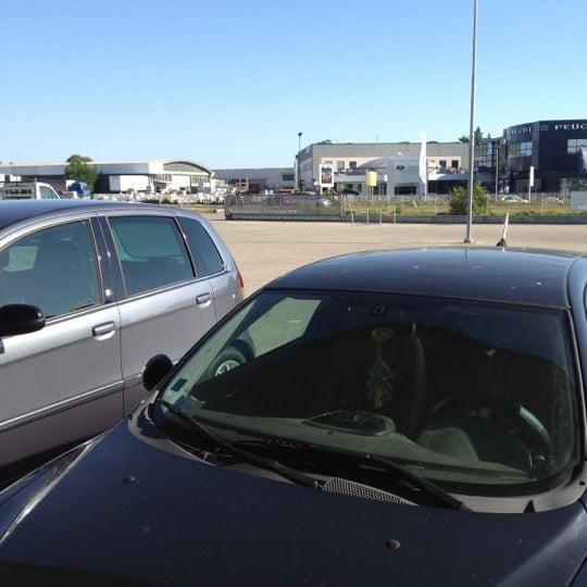 Photo taken at Parcheggio Via Sassonia by Namer M. on 7/9/2012