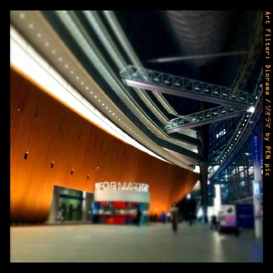 Photo taken at Glass Building by Mizuki N. on 3/17/2012