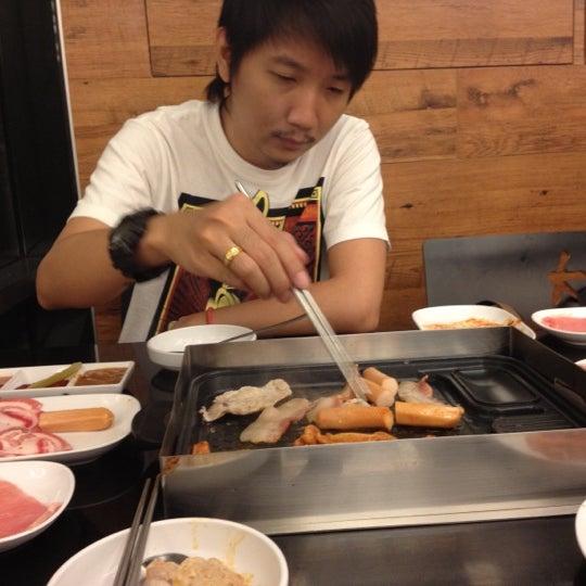 Photo taken at Kimju by Aom on 9/1/2012