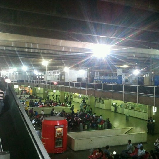 Photo taken at Terminal Rodoviário Governador Israel Pinheiro by Auridebson S. on 8/18/2012