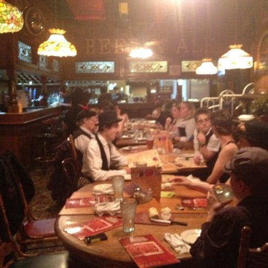 Photo taken at Spaghetti Warehouse by Greg S. on 5/12/2012