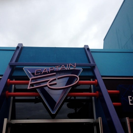 Photo taken at Captain EO by Jennifer on 2/26/2012