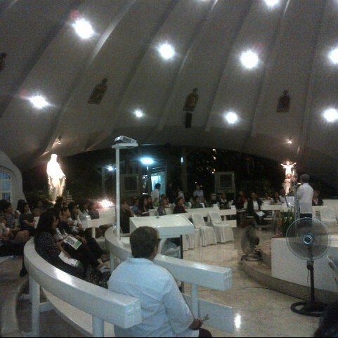 Photo taken at Sto. Niño de Paz Community Chapel by Peewee S. on 7/24/2012