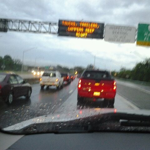 Photo taken at HRBT by Chris S. on 9/22/2011